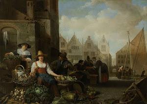 RIJKS: Hendrick Martensz. Sorgh: painting 1662