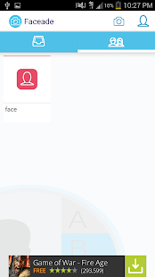 Faceade - Send Photo & Videos - screenshot