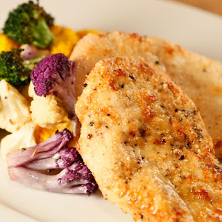 Kirstie Alley's Parmesan Chicken and Veggies