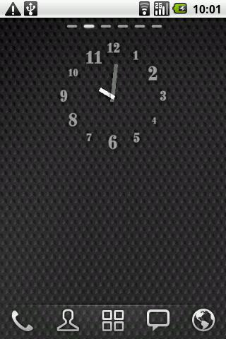 Just Font - Clock Widget