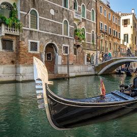 Venice, Italy by Stan Petru - City,  Street & Park  Street Scenes ( venezia, italia, city street scenes, venetia, venice, italy )