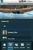 Screenshot of GoSwim Lite