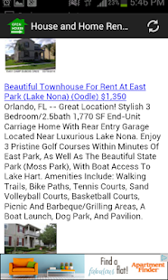 House and Home Rentals App - screenshot