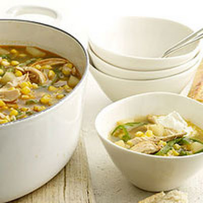 Chili Chicken and Vegetable Soup