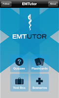 Screenshot of EMT Tutor  NREMT-B Study Guide