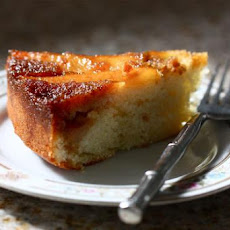 Pear Cardamom Upside Down Cake
