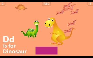 Screenshot of First Alphabet HD