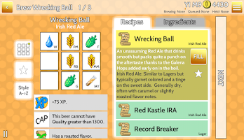 Screenshot of Fiz : Brewery Management Game
