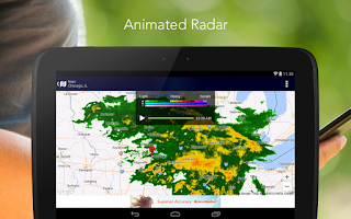 Screenshot of AccuWeather