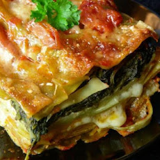 Lasagna Florentine With Sun-Dried Tomato Marinara