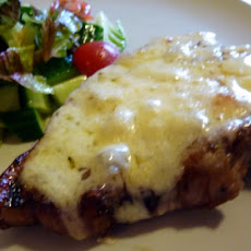 Pork Chops with Cheese and Ale