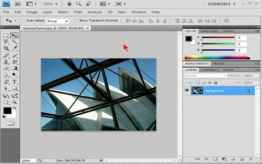 easy-photoshop-cs3-video for android screenshot