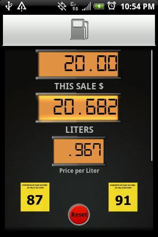 Gas Pump Calculator