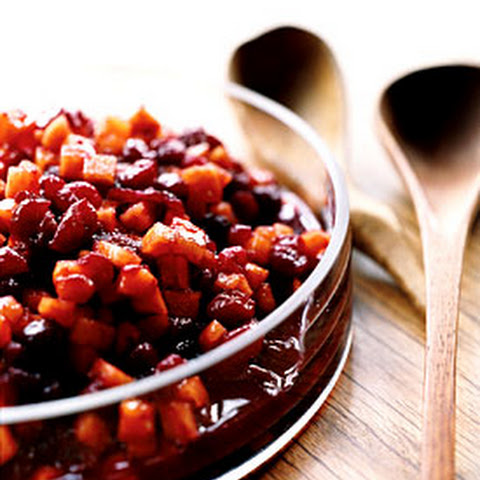 Spiced Cranberry Sauce Epicurious Recipes | Yummly