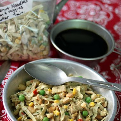 Instant Meal-On-The-Go | Thai Peanut Noodles with Chicken & Vegetables