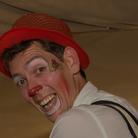 A Clown for all occasions by Nicholas Sykes - People Musicians & Entertainers