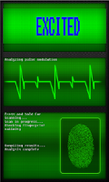 Screenshot of Real Fingerprint Scanner
