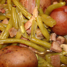 Dixie Green Beans and Potatoes