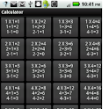 Calculation Table