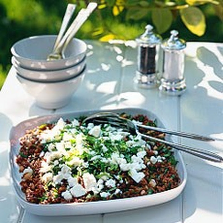 Camargue Red Rice Salad Recipe — Dishmaps