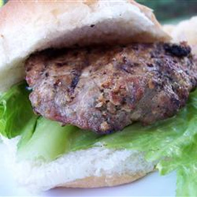 Garlic and Ranch Turkey Burgers