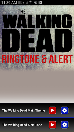 The Walking Dead Ringtone - screenshot