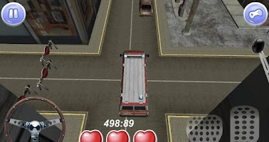 Screenshot of 3D real parking - driving game