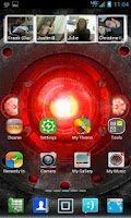 Screenshot of 360 Launcher Blur Theme