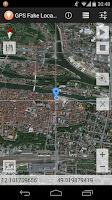 Screenshot of GPS Fake Location Toolkit