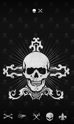 [GO launcher] Skull theme