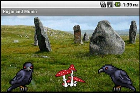 Hugin and Munin - screenshot