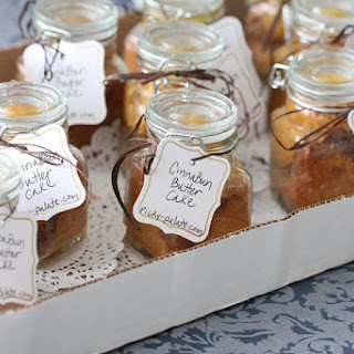 Simple Cinna-Bun Butter Cakes in a Jar