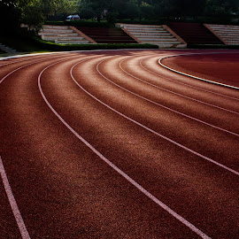 Tracks by Mohammed Safi - Sports & Fitness Fitness ( mysore, lines, tracks, simplysafi, running )