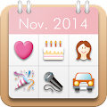 App Women's Stamp Calendar/Diary apk for kindle fire