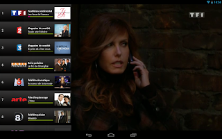 Screenshot of TV Mobile