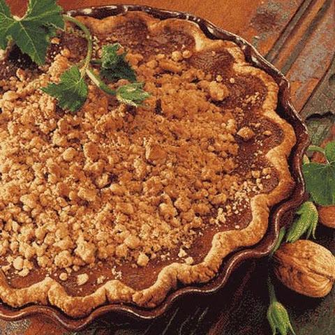 Bourbon Pumpkin Tart with Walnut Streusel Recipe | Yummly