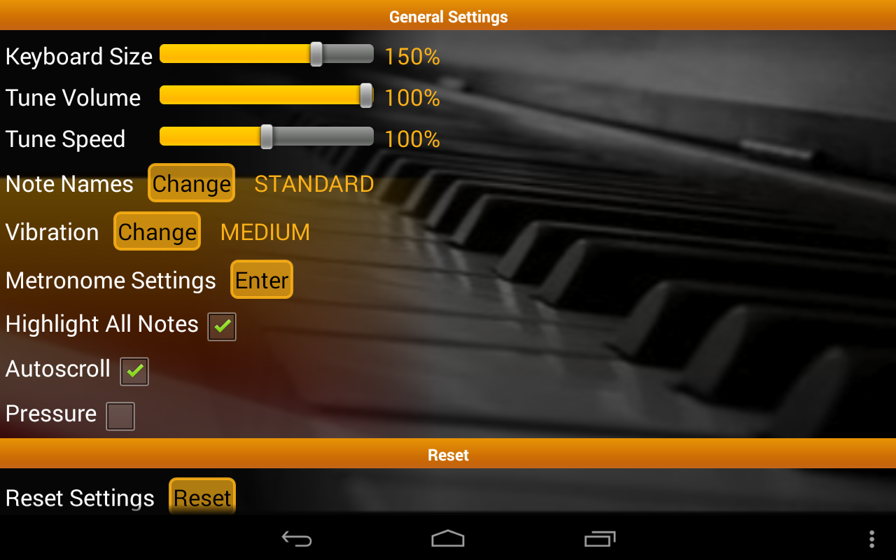 Piano Scales & Chords Pro Screenshot 15