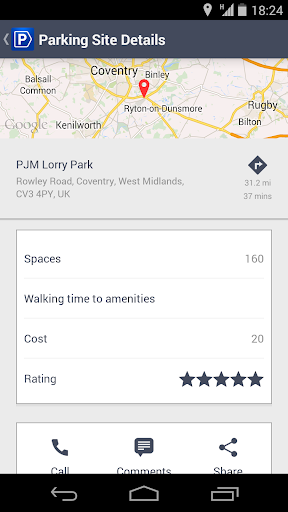 HGVparking - screenshot