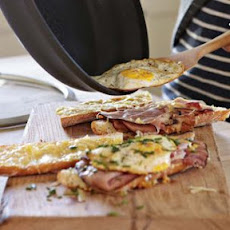 Ham, Cheese and Fried Egg Panini