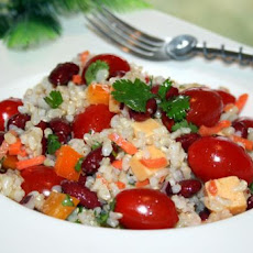 Confetti Bean and Rice Salad