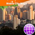 Sao Paolo Street Map icon