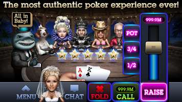 Screenshot of Fresh Deck Poker - Live Holdem