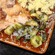 Cat Cora's Caramelized Brussels Sprouts