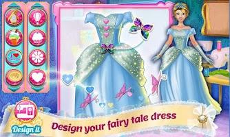 Screenshot of Design It! Princess Makeover