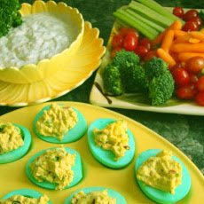 Linda's Green Eggs and Ham Appetizers