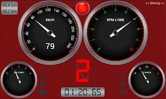 Screenshot of RBR Dash Racing
