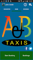 Screenshot of A & B Taxis (Basildon)