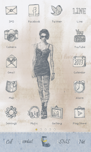 Urbanchic(summer) icon theme - screenshot