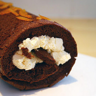 Chocolate Orange Roulade