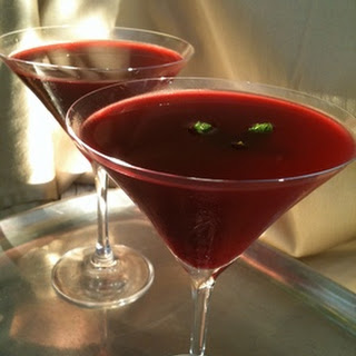 Perfect and Pretty Pom Martini